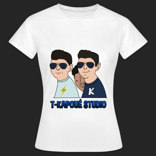 Wankul T Kapoué - T-shirt Femme