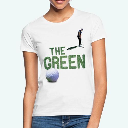 Golf - The Green - Frauen T-Shirt