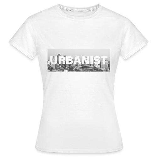 Urbanist Square - T-Shirt. - Koszulka damska