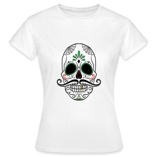 skull sugar - T-shirt Femme