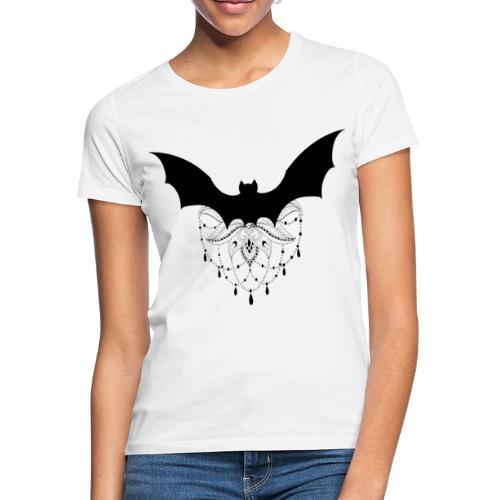chauve-souris mandala - T-shirt Femme