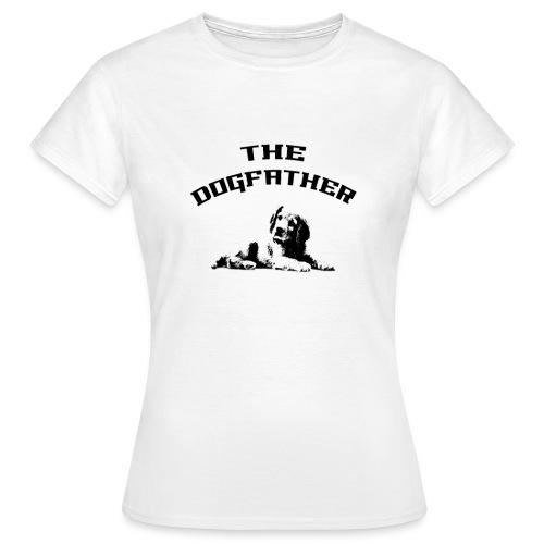 Divertente The DogFather Magliette Uomo Donna - Maglietta da donna