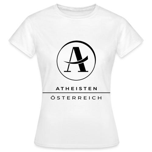 Atheisten Logo Schwarz - Frauen T-Shirt