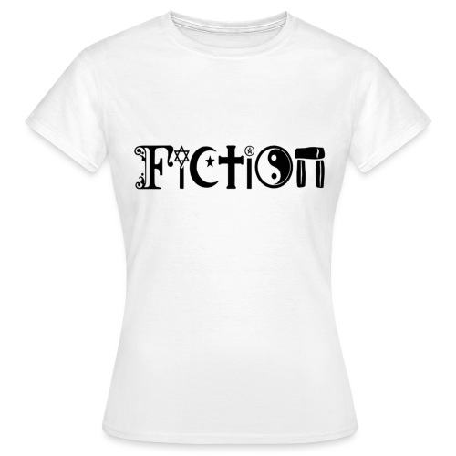 Fiction Schwarz - Frauen T-Shirt