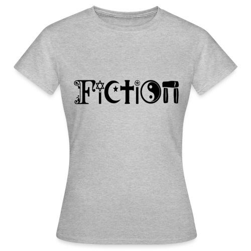 Fiction Schwarz - Frauen T-Shirt