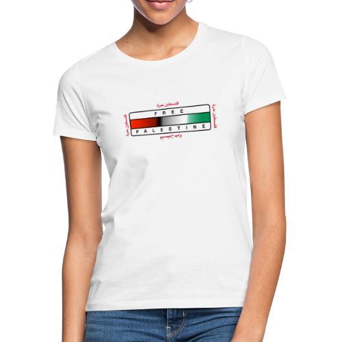 Abstrakt flagg - T-skjorte for kvinner