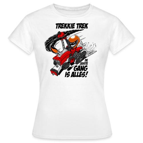 0966 trekkie trek - Vrouwen T-shirt