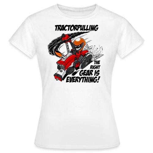 0966 tractorpulling - Vrouwen T-shirt