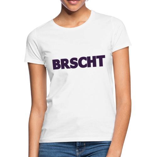 BRSCHT Donker Paars - T-shirt Femme