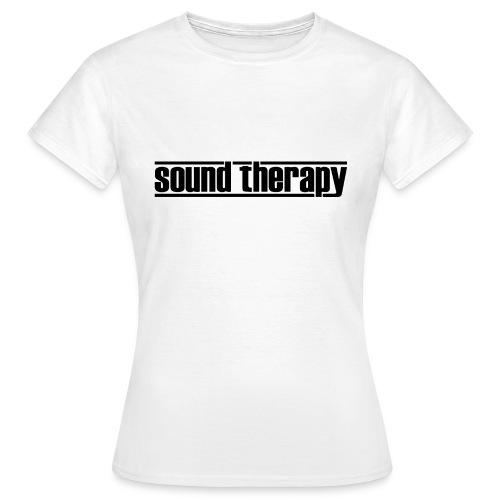 Sound Therapy (black) - T-shirt dam