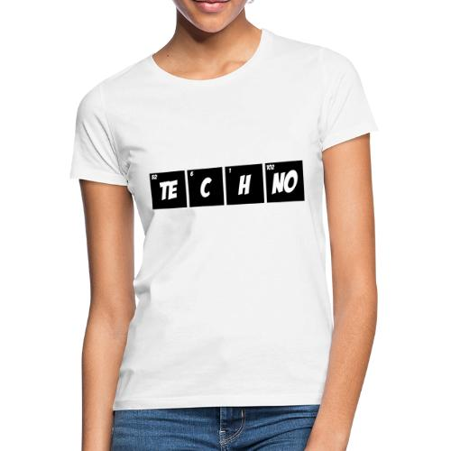 Techno Periodensystem - Frauen T-Shirt
