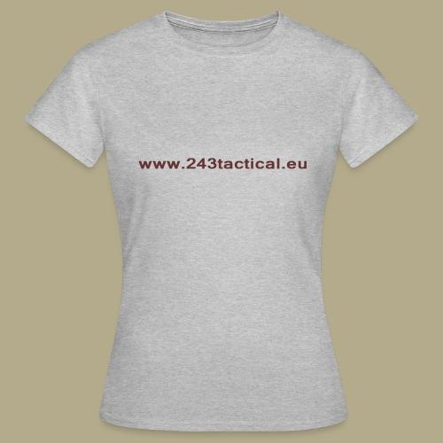 .243 Tactical Website - Vrouwen T-shirt