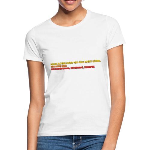 hahah - Frauen T-Shirt