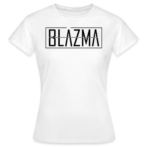 Blazma Black Front Big Logo - Women's T-Shirt