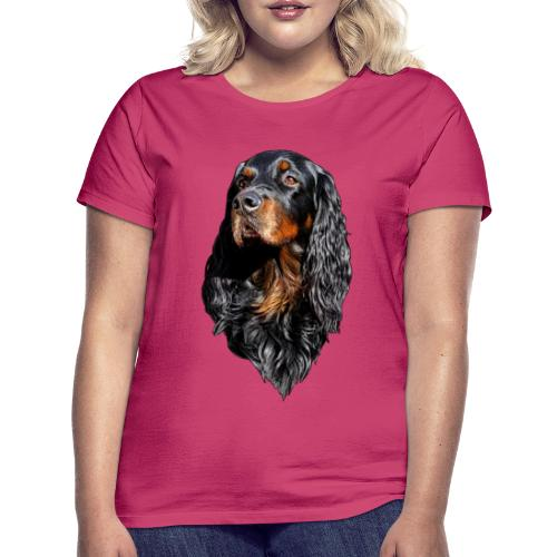 Gordon Setter Portrait - Naisten t-paita