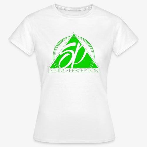 SP LOGO PERCEPTION CLOTHES VERT - T-shirt Femme