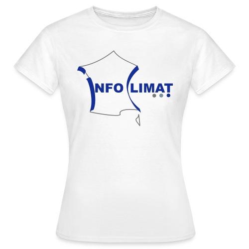 logo simplifié - T-shirt Femme