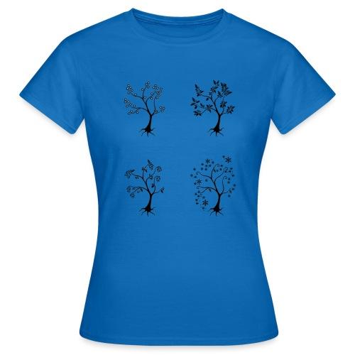 Vuodenajat - Naisten t-paita