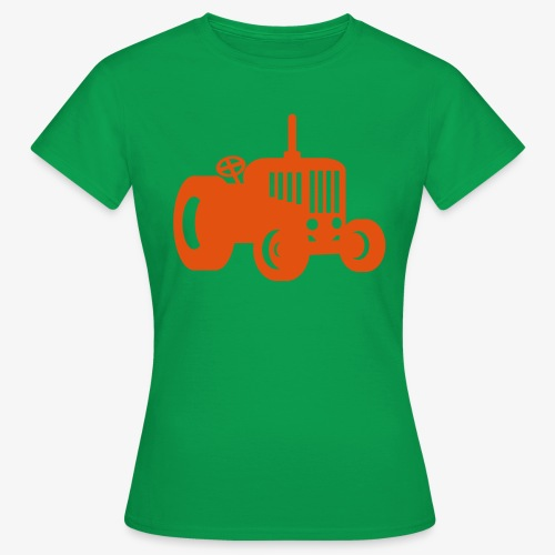 tractor oldschool - Vrouwen T-shirt