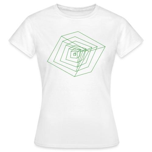 Cubes - T-shirt Femme