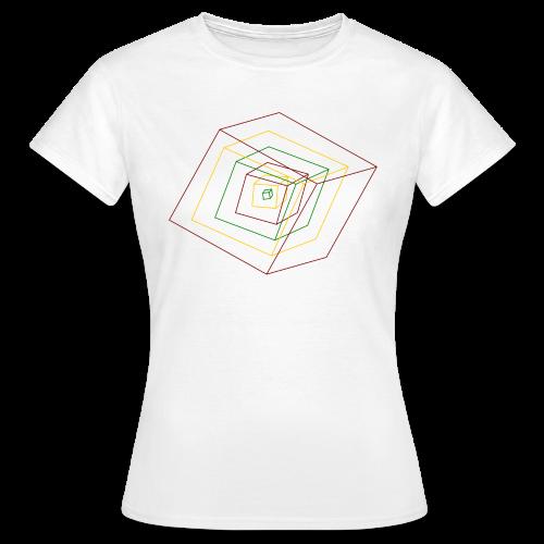 Rasta Cubes - T-shirt Femme