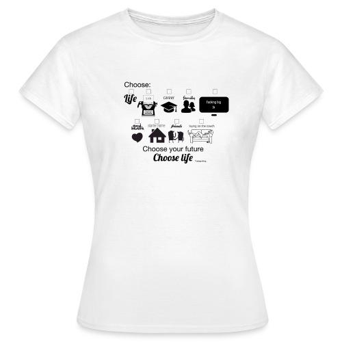 trainspotting - Camiseta mujer