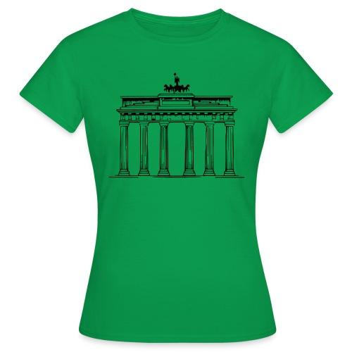 Brandenburger Tor Berlin Victoria Streitwagen - Frauen T-Shirt