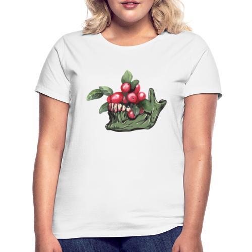 Skull Vegan - T-shirt Femme