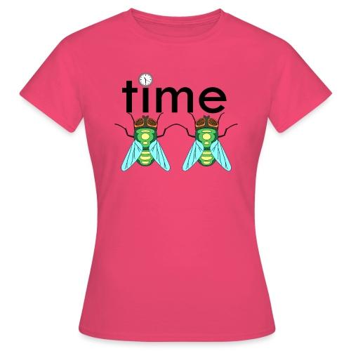 time flies - Dame-T-shirt