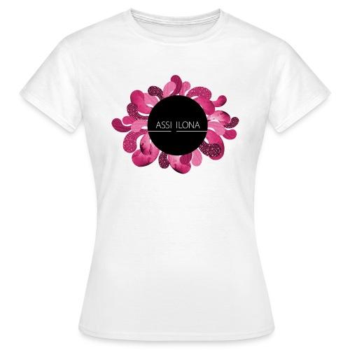 Lasten t-paita punaisella logolla - Naisten t-paita