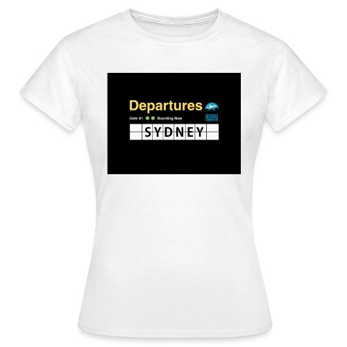 SYDNEY png - Maglietta da donna