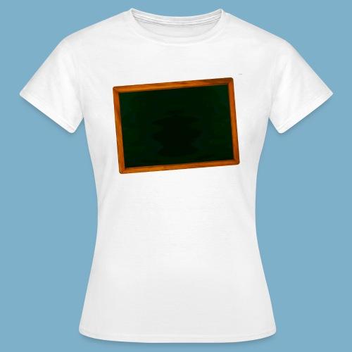 Schul Tafel - Frauen T-Shirt