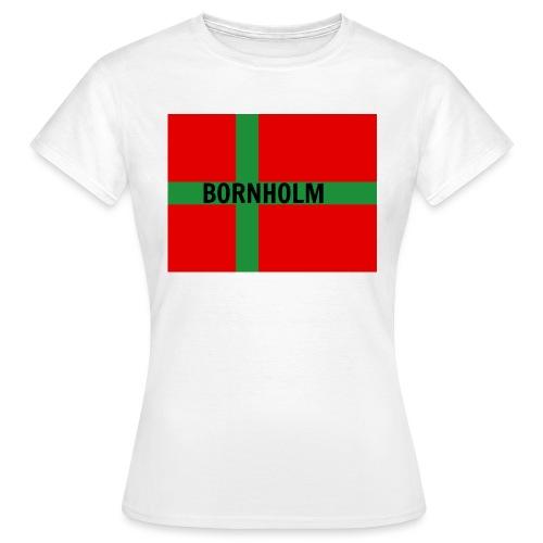 BORNHOLM - Dame-T-shirt