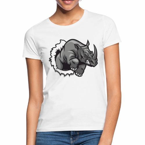 Méchant rhinocéros - T-shirt Femme
