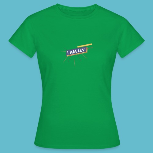 I AM LEV Banner - Vrouwen T-shirt