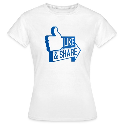 Like & Share (Facebook) - Maglietta da donna
