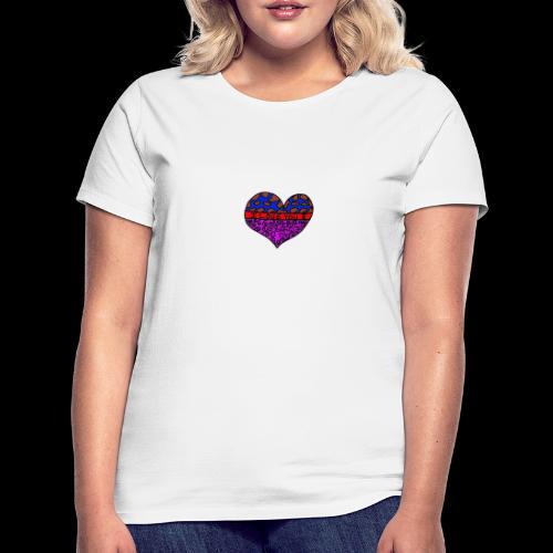 Herz Leben Welt Love you - Frauen T-Shirt