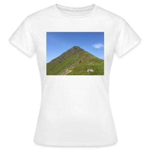 Fjell - T-skjorte for kvinner