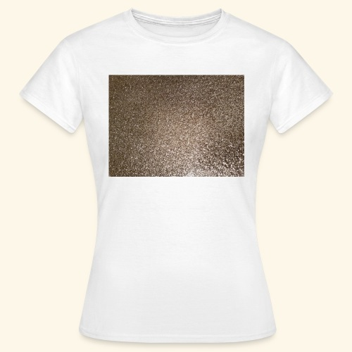 Gold Glitzer als Geschenkidee - Frauen T-Shirt