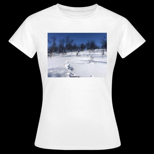 Fin natur - T-skjorte for kvinner