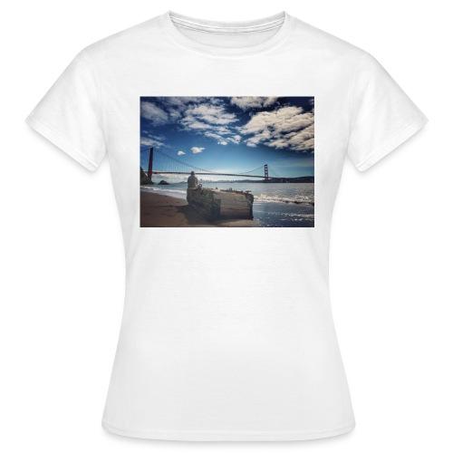 poncio - Camiseta mujer
