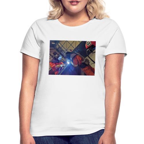 Duo welding - Vrouwen T-shirt