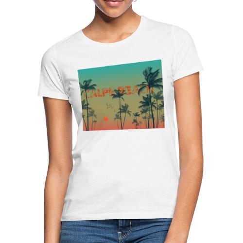 Calpe Beach - Camiseta mujer