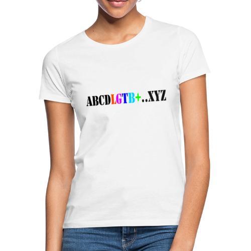 lgtb - Camiseta mujer