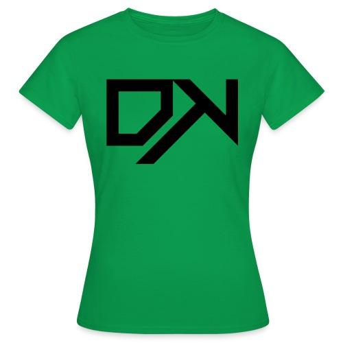 DewKee Logo Cap Black - Women's T-Shirt