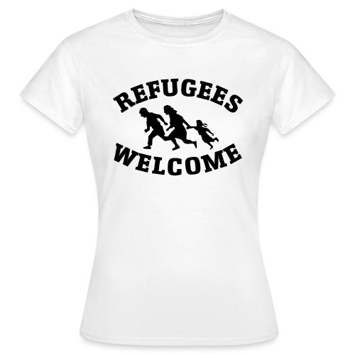 Refugees Welcome - T-shirt Femme