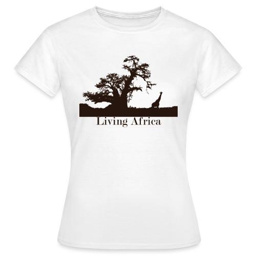 Ultimate_Living_Africa-png - Maglietta da donna