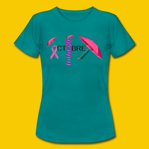 OCTOBRE ROSE 2018 - T-shirt Femme
