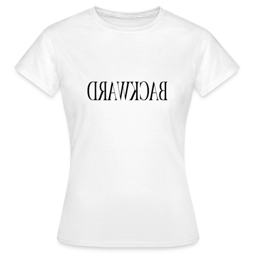 Backward black - Women's T-Shirt