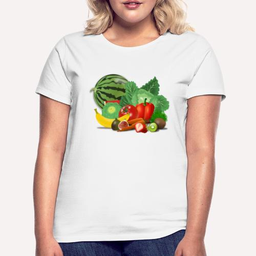 Fruits and vegetables lover - Women's T-Shirt